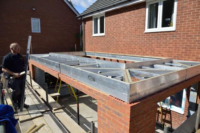 iX250 Orangery Construction